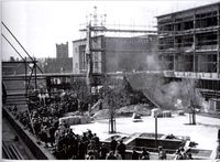 Broadgate in Construction in the 50's